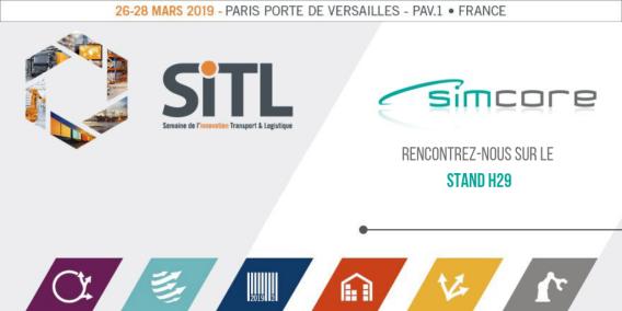 SImcore à la SITL 2019 paris porte de versaille